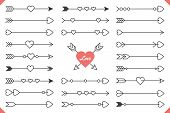 Arrows With Hearts poster
