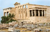 Rehabilitation of the Caryatids, Athens, Greece poster