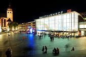 stock photo of koln  - Koln Railway Station - JPG