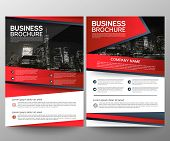 Business Brochure Flyer Design Template. Annual Report. Leaflet Cover Presentation Abstract Geometri poster