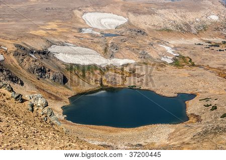 Mountain Lakes And Glaciers