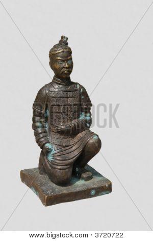 Bronze Ancient Warrior