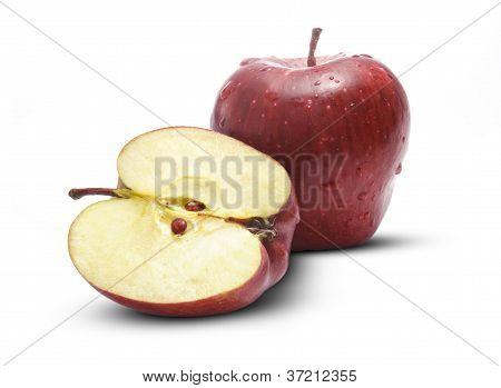 Fresh Full & Half Apple