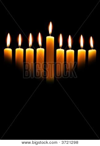 Chanukka Kerzen