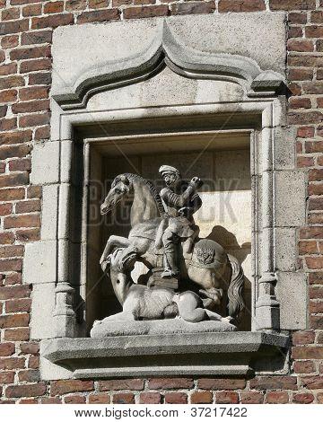 St. George matando o dragão