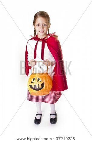 Cute little Halloween Trick-or-Treater
