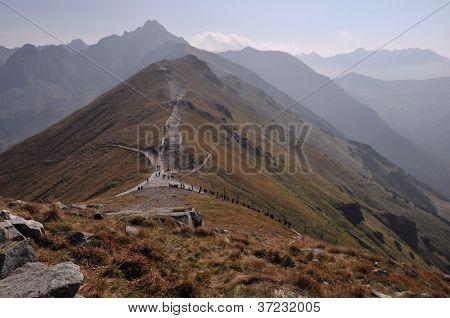 Tatra Mountains In Autumn