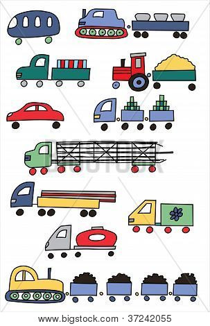 Coloured transport