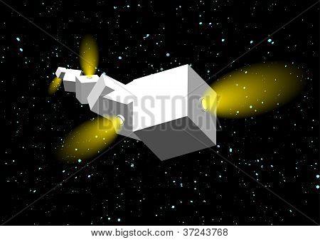 Cubes Spaceship