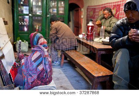 Tibetischer Flüchtlinge in Nepal