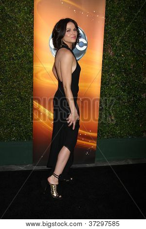 LOS ANGELES - SEP 28:  Lana Parrilla arrives at the ABC Sunday Night Event at Lexington Social Club on September 28, 2012 in Los Angeles, CA