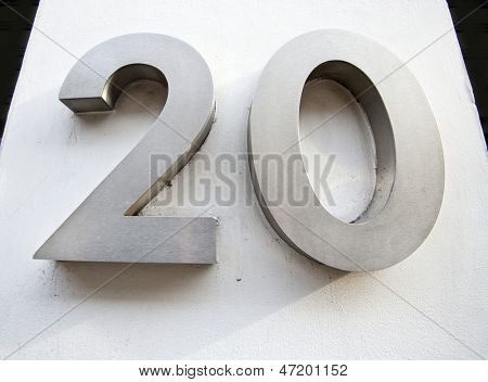 Door Number of Twenty