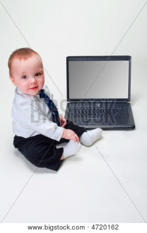 Baby Businessman - Blank Screen