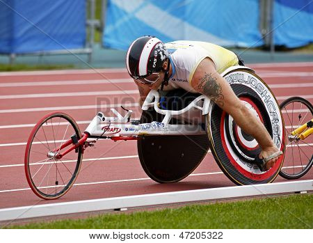 Wheelchair Athlete Male Race Canada