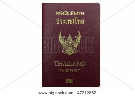 Thailand citizen's passport using for travel aboard