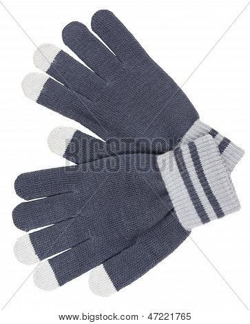 Blueish Gloves
