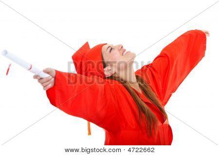 Excited Graduate Student