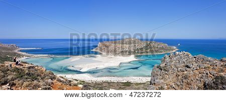 The Balos beach, Granvoussa, Crete