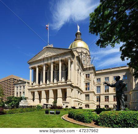 Georgia State Capitol Building em Atlanta, Georgia, EUA.