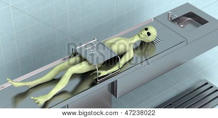 Died Alien In The Laboratory