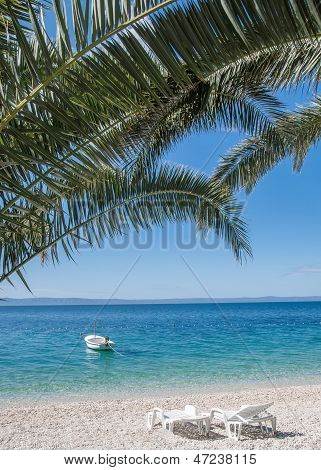 idyllic Place at Makarska Riviera,Croatia
