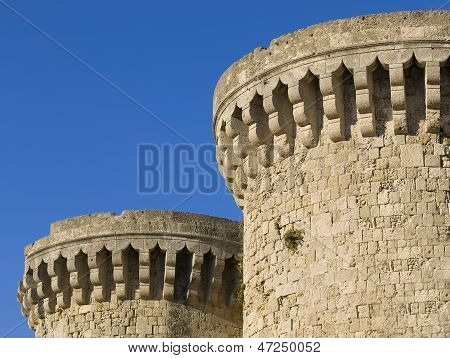 Two Towers Of A Castle