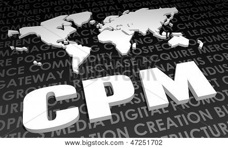 CPM Industry Global Standard on 3D Map