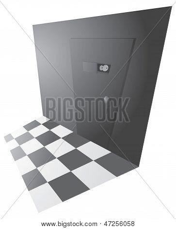 Top Secret Back Door Entrance