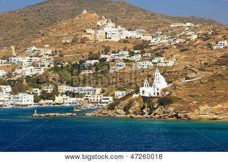 View on Paros island  Greece