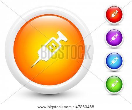 Eyección iconos botón redondo colección ilustración Original