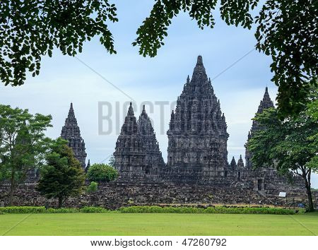 Prambanan. The Biggest Hindu Temple, Java, Indonesia