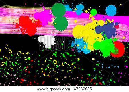 Abstract Background, Beautiful  Colorful Abstract