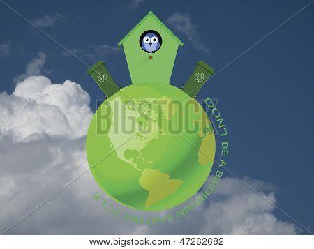 Birdhouse Recycling