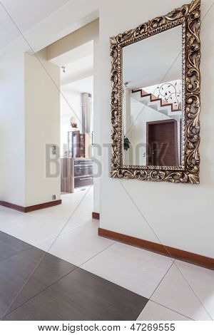 Classy House - Mirror In Corridor