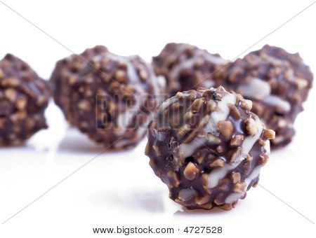 Nuts On Chocolade