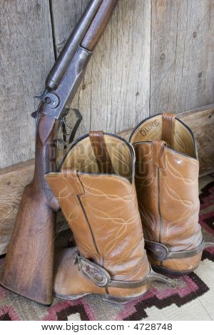 Boots And Gun