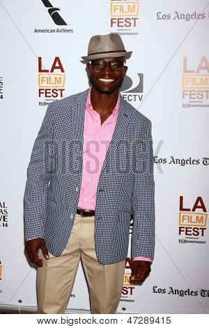 "LOS ANGELES - JUN 23:  Taye Diggs arrives at  ""The Way Way Back"" Premiere as part of the Los Angeles Film Festival at the Regal Cinemas on June 23, 2013 in Los Angeles, CA"