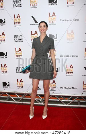 "LOS ANGELES - JUN 23:  Krytsten Ritter arrives at  ""The Way Way Back"" Premiere as part of the Los Angeles Film Festival at the Regal Cinemas on June 23, 2013 in Los Angeles, CA"