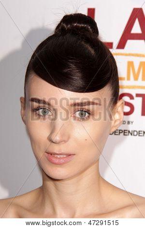 LOS ANGELES - JUN 15:  Rooney Mara arrives at the