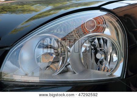 Forward Headlight Car.