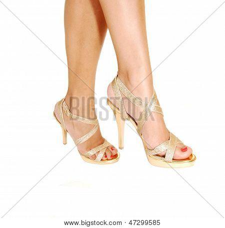 Two Legs In Heels.