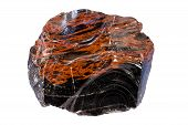 stock photo of hematite  - Brown color is due to hematite - JPG