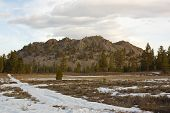 picture of obsidian  - Picture taken near Mono Lake in California - JPG