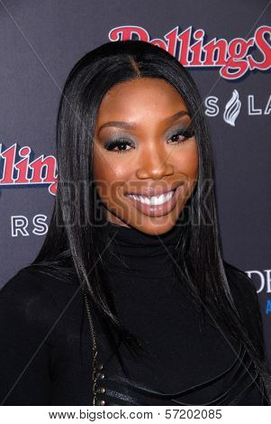 Brandy Norwood at the Rolling Stone American Music Awards VIP After-Party, Rolling Stone Restaurant & Lounge, Hollywood, CA. 11-21-10