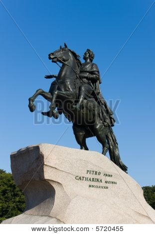 The Copper Horseman