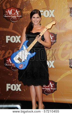 Hilary Scott at the 2010 American Country Awards Press Room, MGM Grand Hotel, Las Vegas, NV. 12-06-10
