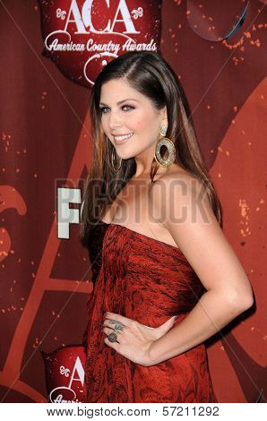 Hilary Scott at the 2010 American Country Awards Arrivals, MGM Grand Hotel, Las Vegas, NV. 12-06-10