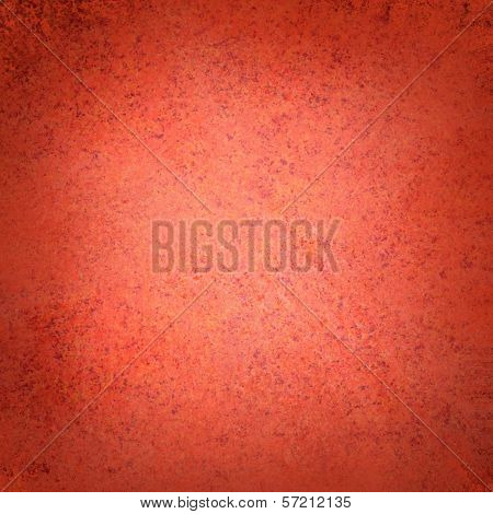 abstract red background Christmas color, soft faded shabby sponge vintage grunge background texture