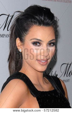 Kim Kardashian at the launch of the Kim Kardashian Brissmor Signature Watch Collection, Whisper Lounge, Los Angeles, CA. 12-07-10