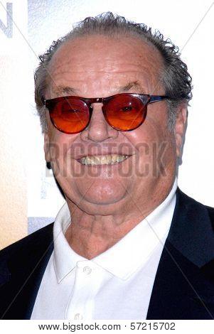 Jack Nicholson at the